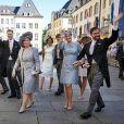 La famille grand-ducale de Luxembourg lors de la Fête nationale, juin 2016.