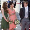 La princesse Tessy et le prince Louis de Luxembourg lors des cérémonies de la Fête nationale en juin 2016. Louis et Tessy ont annoncé en janvier 2017 leur divorce, prononcé moins d'un mois après à Londres. © Albert Ph.van der Werf/DPA/ABACAPRESS.COM
