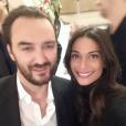 Tatiana Silva, ex-Miss Belgique (2005) et ex-compagne du chanteur Stromae, a été recrutée par TF1 comme Miss Météo ! Photo Instagram d'une rencontre avec Cyril Lignac en 2015.
