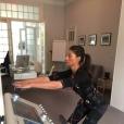 Tatiana Silva, ex-Miss Belgique (2005) et ex-compagne du chanteur Stromae, a été recrutée par TF1 comme Miss Météo ! Photo Instagram Tatiana Silva, en pleine séance de sport, en 2016.