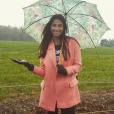 Tatiana Silva, radieuse sous la pluie dans cette photo Instagram de début 2015, est la nouvelle Miss Météo de TF1.