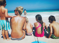 Élodie Gossuin, maman topless entourée de ses quatre enfants en Afrique du Sud