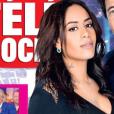 """Amel Bent dévoile un nouveau tatouage dans le cou en couverture de """"Télé Poche"""", programmes du 25 février au 3 mars 2017."""