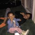 Darius McCrary a publié une photo de ses enfants sur sa page Instagram le 22 février 2017. Sa femme Tammy l'accuse de violences conjugales.