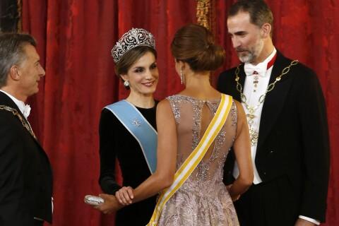 Letizia d'Espagne et Juliana Awada : Sublimes, tactiles, la fantastique alchimie
