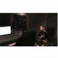 Vitaa en studio avec Stromae. Photo publiée sur Instagram en février 2017.