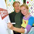 Emma Thompson et Alan Rickman à Londres le 29 mai 2001.