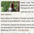"""Dorien """"Lala"""" Thomaz, la soeur trans de Wiz Khalifa, est décédée le 20 février 2017 à l'âge de 32 ans."""