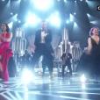 Justin Timberlake chante pendant la cérémonie des Oscars 2017.
