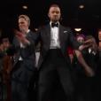 Justin Timberlake met le feu pendant la cérémonie des Oscars 2017.
