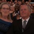 Meryl Streep pendant la cérémonie des Oscars 2017.