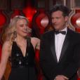 Kate McKinnon et Jason Bateman pendant la cérémonie des Oscars 2017.