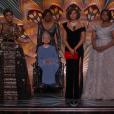 L'équipe des Figures de l'ombre pendant la cérémonie des Oscars 2017.