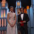 Hailee Steinfeld et Gael Garcia Bernal aux Oscars 2017.