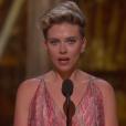 Scarlett Johansson aux Oscars 2017