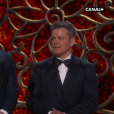 Jimmy Kimmel et Ben Affleck se moquent de Matt Damon.