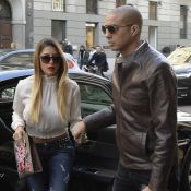 David Trezeguet et Beatriz Villalba : Couple stylé, main dans la main, à Milan