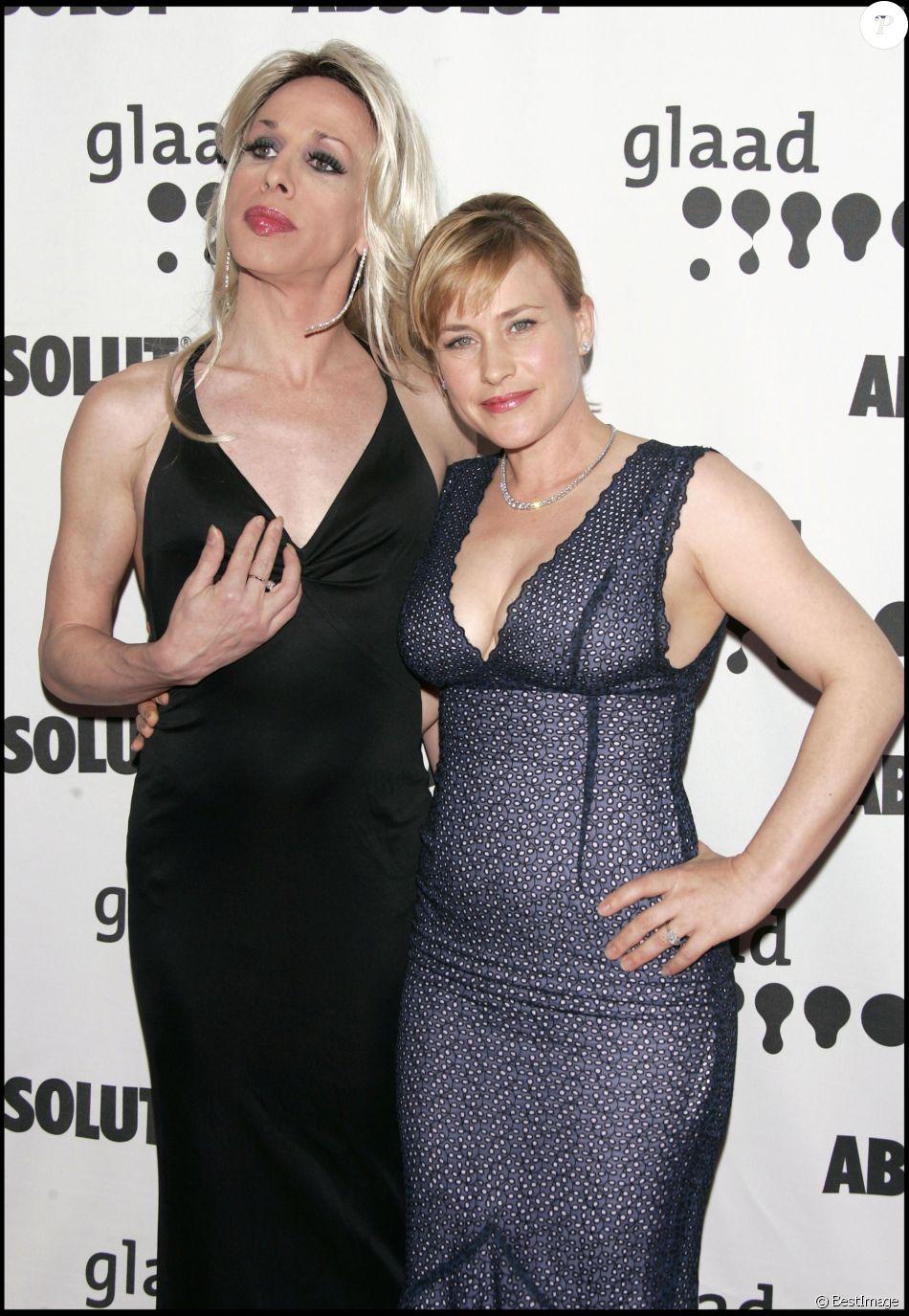 Alexis et Patricia Arquette à la 17e édition des Glaad Media Awards à Los Angeles le 8 avril 2006