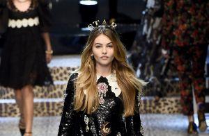 Fashion Week : Thylane Blondeau et Gabriel-Kane Day-Lewis font le show à Milan