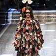 """Défilé de mode prêt-à-porter automne-hiver 2017/2018 """"Dolce & Gabbana"""" à Milan, le 26 février 2017."""