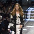 """Sailor Brinkley Cook - Défilé de mode prêt-à-porter automne-hiver 2017/2018 """"Dolce & Gabbana"""" à Milan, le 26 février 2017."""