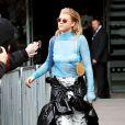 """Sofia Richie au défilé """"Topshop Unique"""", collection prêt-à-porter automne/hiver 2017-2018, à la Fashion Week de Londres, Royaume Uni, le 19 février 2017"""