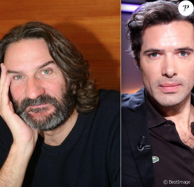 Frédéric Beigbeder et Nicolas Bedos (photomontage)