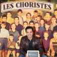 Exclusif - Kamel Ouali à la générale de la comédie musicale Les Choristes au théâtre des Folies Bergère à Paris, France, le 2 mars 2017.