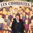 Exclusif - Richard Orlinski à la générale de la comédie musicale Les Choristes au théâtre des Folies Bergère à Paris, France, le 2 mars 2017.
