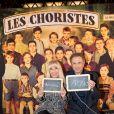 Exclusif - Michel Drucker et sa femme Dany Saval à la générale de la comédie musicale Les Choristes au théâtre des Folies Bergère à Paris, France, le 2 mars 2017.