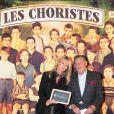 Exclusif - Isabelle Camus et son père Jean-Claude Camus à la générale de la comédie musicale Les Choristes au théâtre des Folies Bergère à Paris, France, le 2 mars 2017.