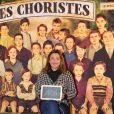 Exclusif - Sandrine Quétier à la générale de la comédie musicale Les Choristes au théâtre des Folies Bergère à Paris, France, le 2 mars 2017.