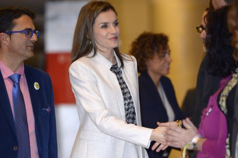 """Letizia d'Espagne : """"Je ne me lasse pas"""""""