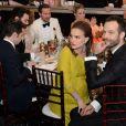 Natalie Portman et son mari Benjamin Millepied - Show lors de la 74ème cérémonie annuelle des Golden Globe Awards à Beverly Hills, Los Angeles, Californie, Etats-Unis, le 8 janvier 2017. © Hfpa Photographer/Avalon/Zuma Press/Bestimage
