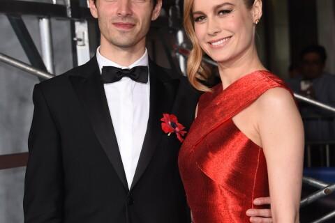 """Brie Larson et son fiancé : Couple craquant devant Tim Hiddleston et """"Kong"""""""
