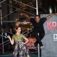 Stephen Twitch Boss et sa femme Allison Holker à la première de 'Kong: Skull Island' au théâtre Dolby à Hollywood, le 8 mars 2017 © Chris Delmas/Bestimage