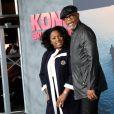 Samuel L. Jackson et sa femme Latanya Richardson à la première de 'Kong: Skull Island' au théâtre Dolby à Hollywood, le 8 mars 2017 © Chris Delmas/Bestimage