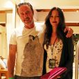 David Arquette et sa femme Christina McLarty à la soirée du nouvel an 2016 de Shep Gordon au 'Wailea Beach Marriott Resort & Spa' à Hawaii, le 31 décembre 2015