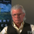 Robert James Waller, auteur de The Bridges of Madison County (Sur la route de Madison), est mort le 10 mars 2017 à 77 ans. Ici lors d'une interview