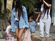 Kim Kardashian : Sortie en famille, avec les inséparables North et Penelope