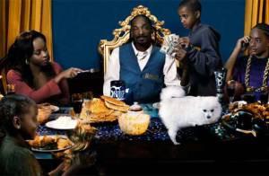 Snoop Dogg débarque avec sa femme et leurs trois enfants... Et ça promet !