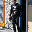 Jennifer Lopez et son nouveau compagnon Alex Rodriguez à la sortie d'un centre de fitness à Miami, le 16 mars 2017.