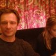David Hallyday et sa fille aînée Ilona