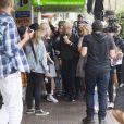 Justin Bieber va déjeuner avec un ami chez Mosman non loin de Sydney, en Australie, le 17 mars 2017