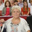 """Mimie Mathy avec son mari Benoist Gerard - Enregistrement de l'emission """"Vivement Dimanche"""" a Paris le 2 octobre 2013."""