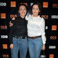 Semi-exclusif - Hedia et Karima Charni - Soirée Orange OCS HBO à l'Arc à Paris le 21 mars 2017. © Veeren/Bestimage