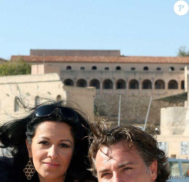 Roberto Alagna et sa femme Angela Gheorghiu à Marseille