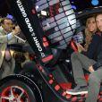 David et Cathy Guetta - People à la soirée Renault au mondial de l'auto à la porte de Versaillesà Paris, le 27 septembre 2012.