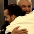 """Franck retrouve son mentor - """"Top Chef 2017"""" sur M6, le 29 mars 2017."""