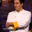 """Jérémie - """"Top Chef 2017"""" sur M6, le 29 mars 2017."""